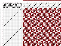 draft image: Page 046, Figure 11, Atlas D'Armures Textiles, B. Fressinet, 8S, 32T