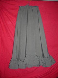 Tutorial for a Half Circle skirt w/ or w/o flounce