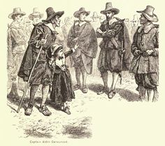 Captain John Alden Jr. accused of witchcraft by a child