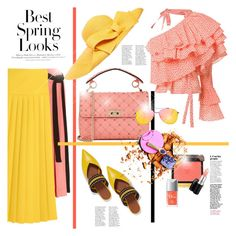 """COLORFULL SET(TOP SET thank you so much)"" by konstantinabday26oct72 ❤ liked on Polyvore featuring H&M, Marni, Rosie Assoulin, Valentino, Malone Souliers, Tom Ford, MAC Cosmetics, Helene Berman and Topshop"