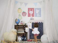 decoracion bebes colecion banderolas menudos cuadros5 photo