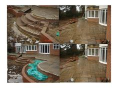 Yorkstone Paving :: Oakfield Landscaping :: Andy Gardener Treecare
