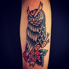 Old school owl