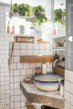 Make-over für dein altes Badezimmer...so geht´s!