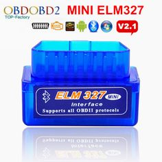 top bn mini elm327 obd2 obdii elm 327 bluetooth v21 chn on scanner tool