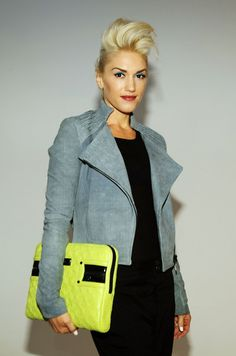Gwen Stefani. Still can't believe she's had 2 kids and is in her 40's. Amazing style.