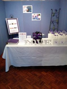 My booth just before the doors opened at the Ballina Bridal Expo on 30.3.14.