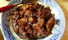 ZULFAZA LOVES COOKING: Rendang daging ganja kak ash
