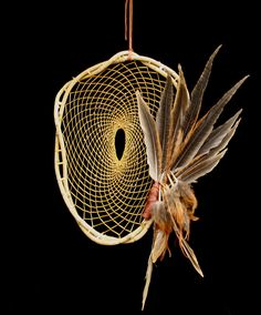 Native American Indian Dream Catchers, so intricate and I love the feathers <3