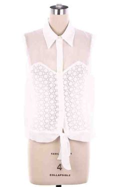 Kennedy Embroided Top www.womensboutiqueclothing.com $45.00