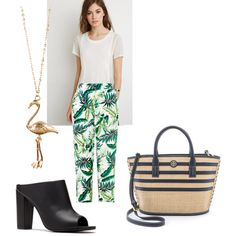 Lunch outfit by mixed-fa-shion Lunch Outfit, What I Wore, Preppy, Polyvore Fashion, Tory Burch, Classy, Shoe Bag, Stylish, My Style