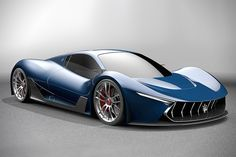 Maserati M-63 Hypercar Concept