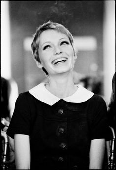 I am completely and utterly obsessed by the beauty that is Mia Farrow.