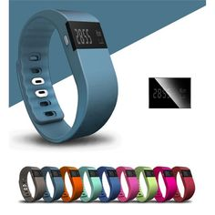 This top of the line very visible promo is perfect for any user. Features include Android and IOS compatible; accurately track steps taken, distance traveled, calories burned; access real-time run stats like time, distance, and pace; get call notifications right on wrist; automatically identifying sleeping statues by recording sleep quality; event reminders (water, medicine, etc.,); remote control phone camera; silent wake alarm that will not disturb others; intelligent sedentary reminder…