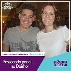 Passeando por ai fui visitar minha querida amiga Jamilla no Daisho e tive o prazer de conhecer o seu irmão não é a cara um do outro? Acompanhe os Clicks da coluna Fuxicos Davila na Revista DÁvila. http://ift.tt/1UOAUiP (link na bio).