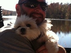 Abby and her daddy in the Razr at Natchez Trace.