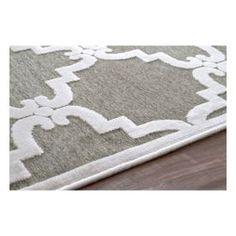 Velvet Trellis VL01 Cream Rug | Contemporary Rugs #RugsUSA -close-up for Master Bedroom!