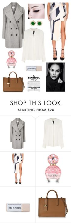 """""""A Beautiful Mind"""" by izzie1800 ❤ liked on Polyvore featuring Carven, Derek Lam, Keepsake the Label, Marc Jacobs, DKNY and Effy Jewelry"""