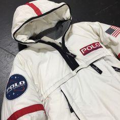 d09805e3da Rare Vintage Polo Jeans Co Ralph Lauren Jacket NASA Space Astronaut  Original 90s   eBay