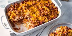 Beef Casserole Recipes, Ground Beef Casserole, Meat Recipes, Dinner Recipes, Cooking Recipes, Hamburger Casserole, Egg Casserole, Breakfast Casserole