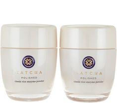 TATCHA Polished Rice Enzyme Powder Set of 2 — QVC.com