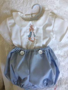 510445f58 Romper Suit, Rabbit Baby, Baby Christening, Peter Rabbit, Magpie, Boy  Christening