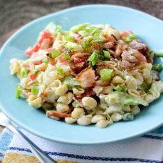 Weight Watcher's BLT Pasta Salad - 4 Smartpoints - weight watchers recipes
