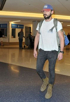 Pin for Later: This Weekend's Must-See Snaps! Shia LaBeouf rocked his signature look at LAX on Friday.