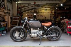 BMW custom bobber