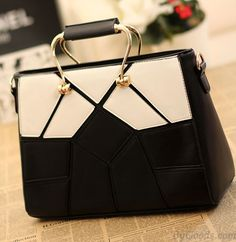 Graceful Black And White Fashion Style Handbags only $39.99 in ByGoods.com