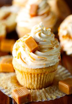 The Best Salted Caramel Cupcakes