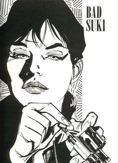 "Modesty Blaise. ""Bad Suki""."