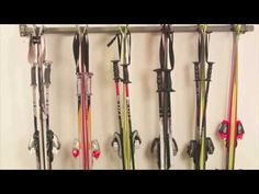 Perfect storage idea for Skis and Snowboards!