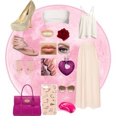 """pink"" by smile-laugh on Polyvore"
