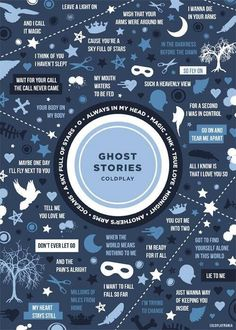 Great fan-made GhostStories graphic (by@Coldplaymania on twitter )