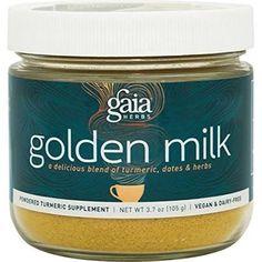 Gaia Herbs Golden Milk Powder 3.7 oz (105 g)