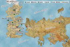 Mapa Juego de tronos!