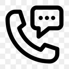 Calling Chat Line Icon Vector Chat Icons Line Icons Calling Png And Vector With Transparent Background For Free Download Line Icon Line Chat App Glyph Icon