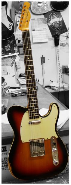 1964 Fender Custom Esquire with added neck pickup