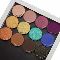 Colourpop Kathleen lights zodiac collection singles