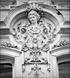 Budapest, inner city. Neobaroque building, 1892-94 Architect: Nay Rezső