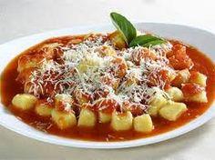 Resultado de imagem para comida italiana