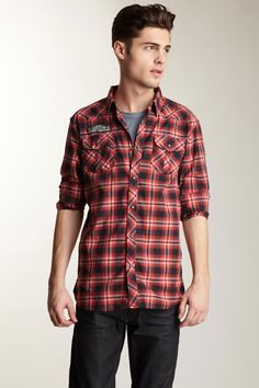 Scotch and Soda Plaid Shirt