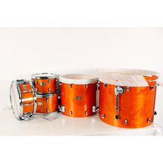 "Yamaha Stage Custom Birch 5-Piece Shell Pack with 22"" Bass Drum Honey Amber 190839093943"