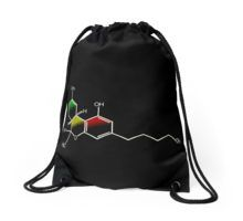 'The Science of THC' Throw Pillow by MellowGroove Phone Covers, Drawstring Backpack, Chiffon Tops, Duvet Covers, Classic T Shirts, Canvas Prints, Throw Pillows, Artwork, Clothing