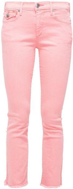 """Pin for Later: Heißt den Frühling willkommen mit diesen Kleidern in Pastelltönen  True Religion """"Cora"""" Jeans Slim Fit in Pastelltönen (190 €)"""