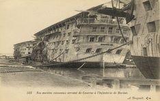 Hulk at Toulon, c.1900