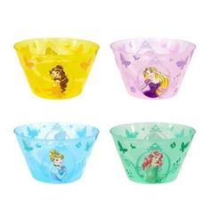 Disney Princess Kid's 4-pc. Melamine Bowl Set by Jumping Beans