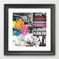 La Vida Loca Framed Art Print by Deb Haugen - $35.00