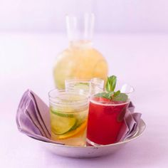 Himbeer-Minze-Eistee Rezept - [LIVING AT HOME]